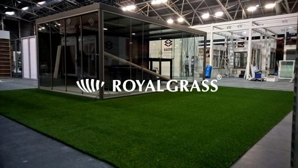 Project: Beursstand met Royal Grass kunstgras te Gent
