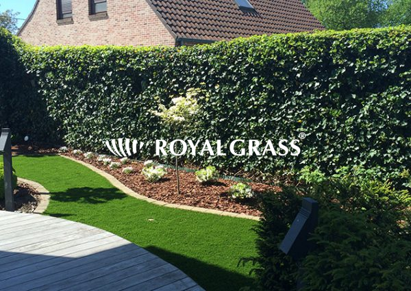 Project: Kunstgras tuin door Ecograss