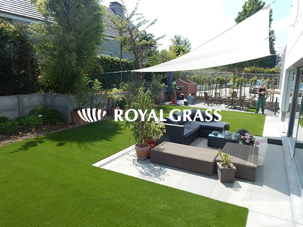 Project: Tuin te Roeselare met Royal Grass Velvet