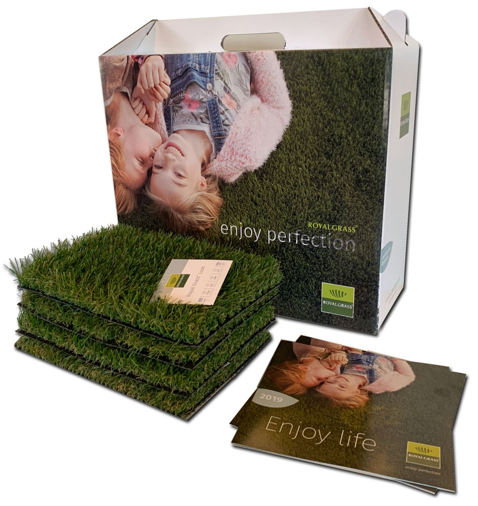 Samplebox Royal Grass® kunstgras